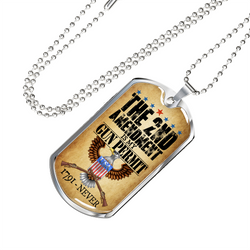 The 2nd Amendment Necklace