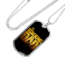 The Walking Dad Necklace