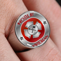 The Noble Fireman Ring