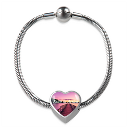 Faith In Action Heart Bracelet