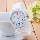 Girls Silicone Motion Quartz Watches