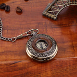Wooden Men's Pocket Watches