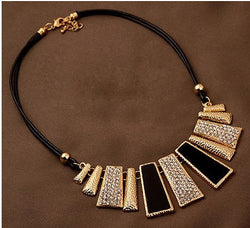 Trendy Women  Rectangle  Necklace Pendant