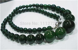 Natural Chalcedony Round Beads Necklace