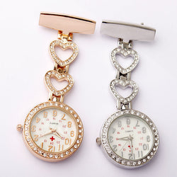 Clip-on Nurse  Heart-Shaped  Hanging Watch