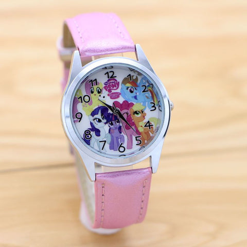 Girls Pony Horse Cartoon Watch
