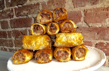 Organic Pork Cheese & Marmite sausage roll