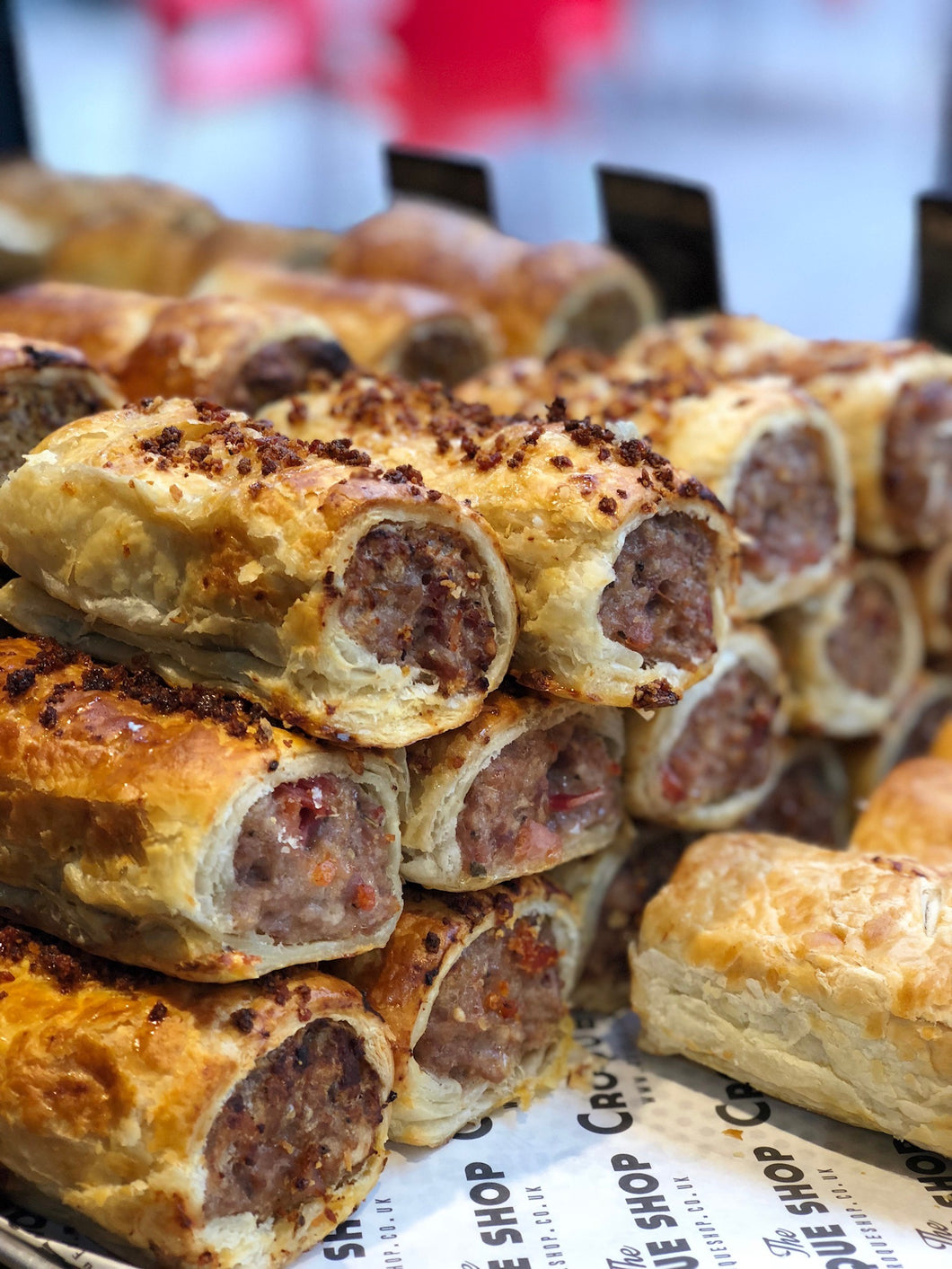 Our favorites - Box of 12 sausage rolls