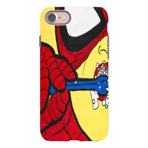 Spidey Brushing Phone Case