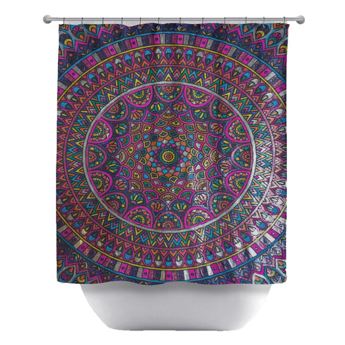 Psychedelic Furs Shower Curtain