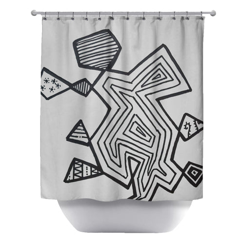 Coolness Shower Curtain