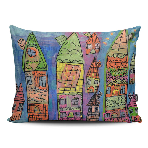 Candy Coated Capital Pillow