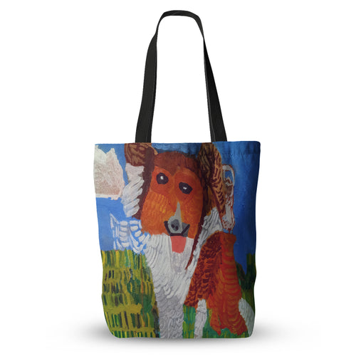 Doggie Dog Tote Bag