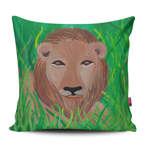 Amanda's Lion Pillow