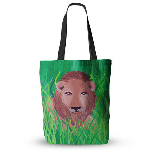 Amanda's Lion Tote Bag