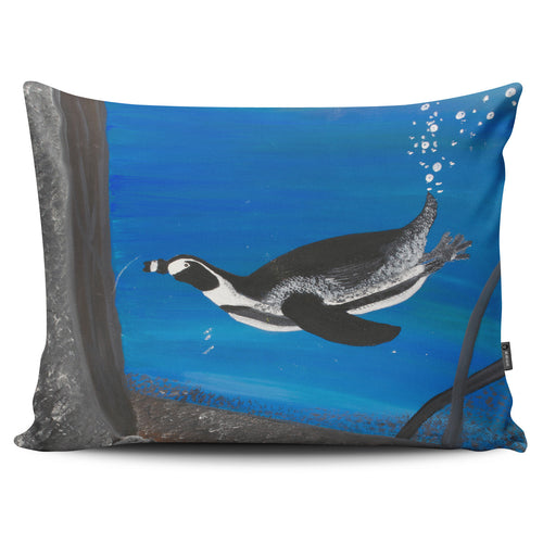 Amanda's Penguin Pillow