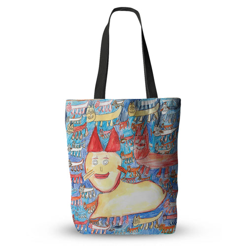 Profile Of A House Cat Tote Bag