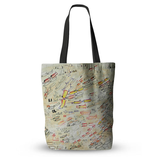Women Wear Their Familiar Shoes Tote Bag