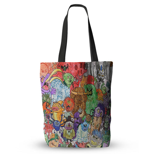 Mini Monsters Tote Bag
