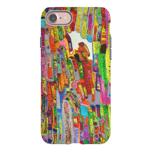 Squiggle Bus Phone Case