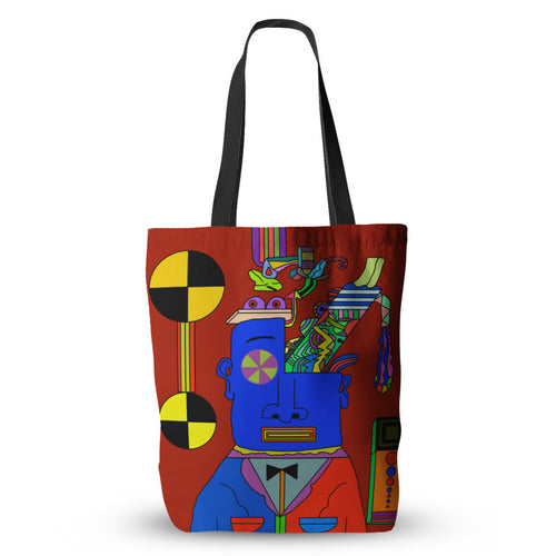 Blue Meanie's Brains Tote Bag