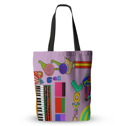 Modulation Grooviness Tote Bag