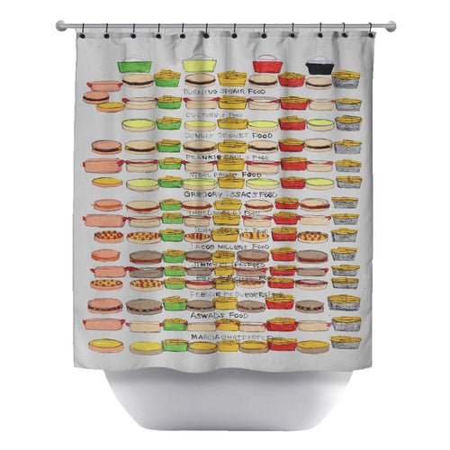 Whats For Dinner Shower Curtain