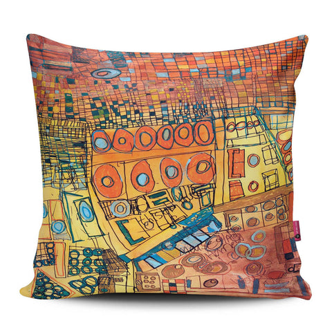 Brown Untitled Pillow
