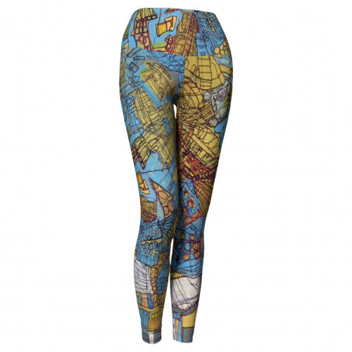 King Of The Hill Sky Heaven Leggings