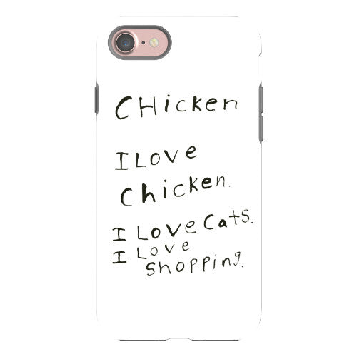 I Love Chicken Phone Case