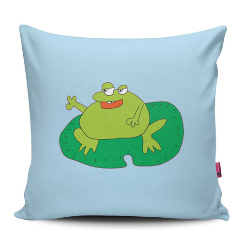 Shreyas Bull Frog Pillow