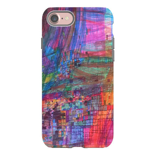 Rainbow Boxes Phone Case