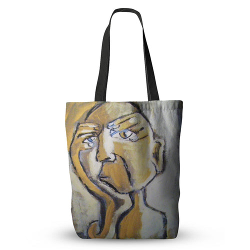 Behind Broken Eyes Tote Bag