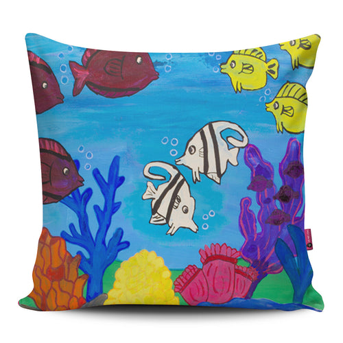 Angelfish Pillow