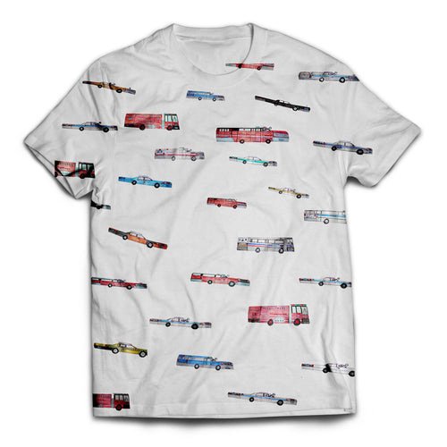All The Cars T-Shirt