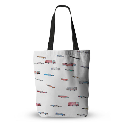 All The Cars Tote Bag