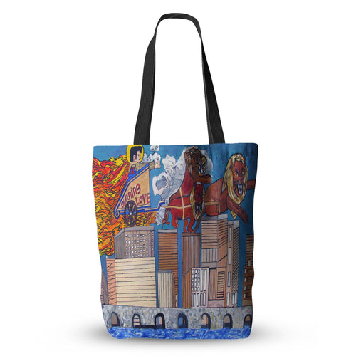 Burning Love Tote Bag