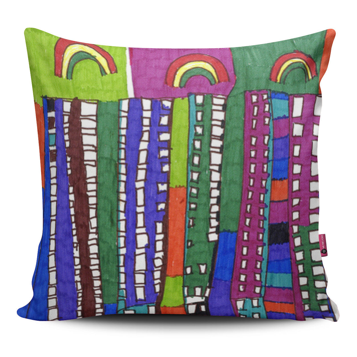 Rainbows Pillow