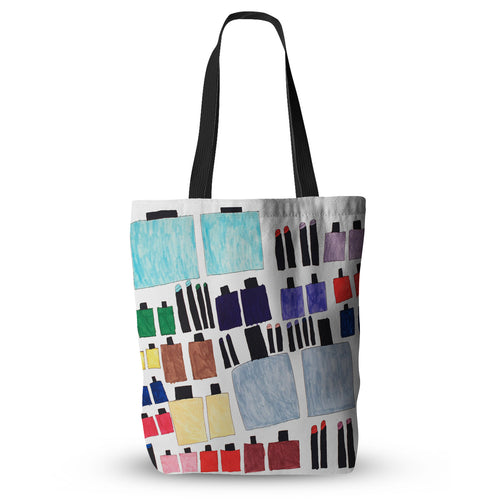 Lipstick and Nailpolish Tote Bag