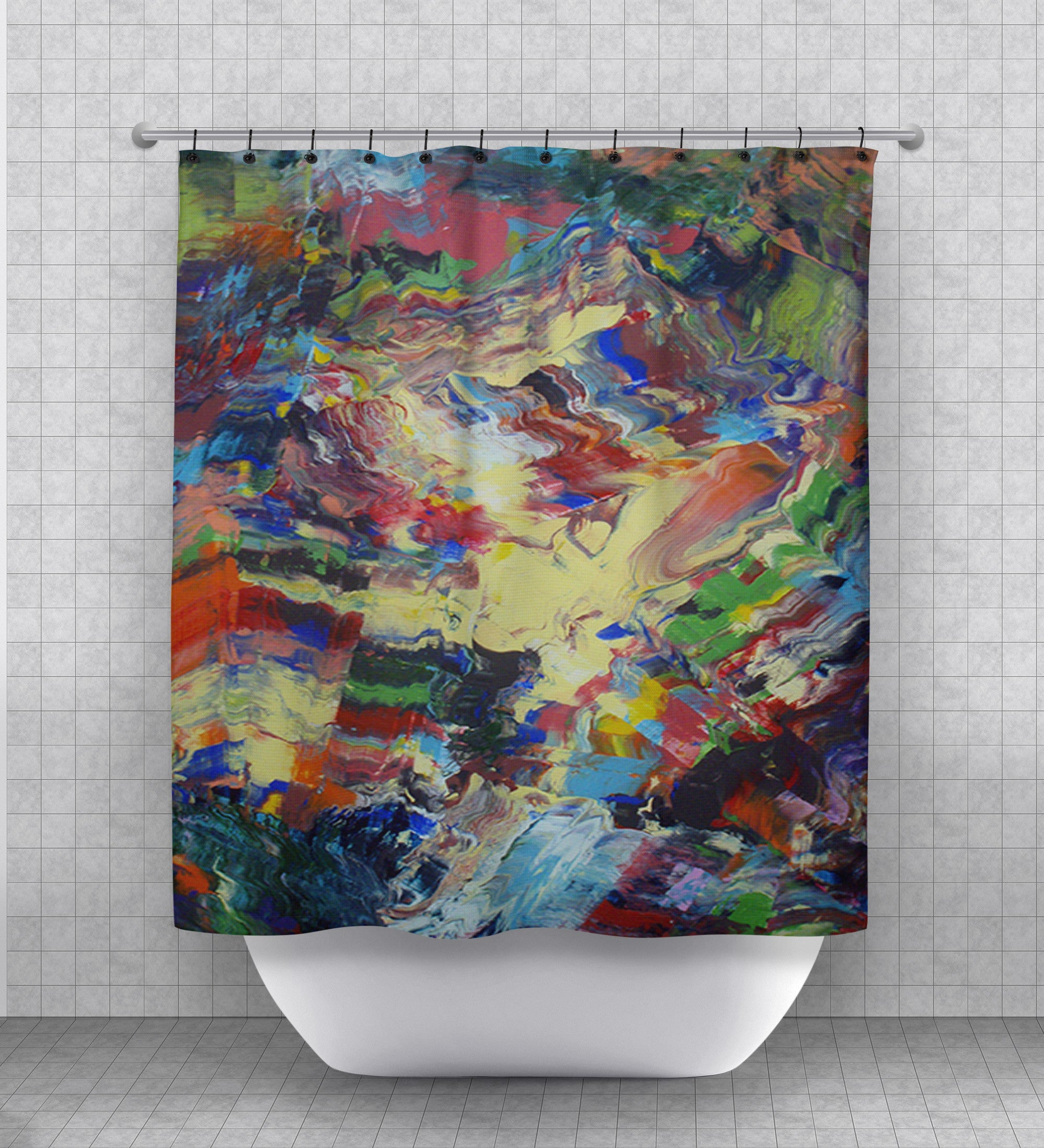 Marvel Shower Curtain