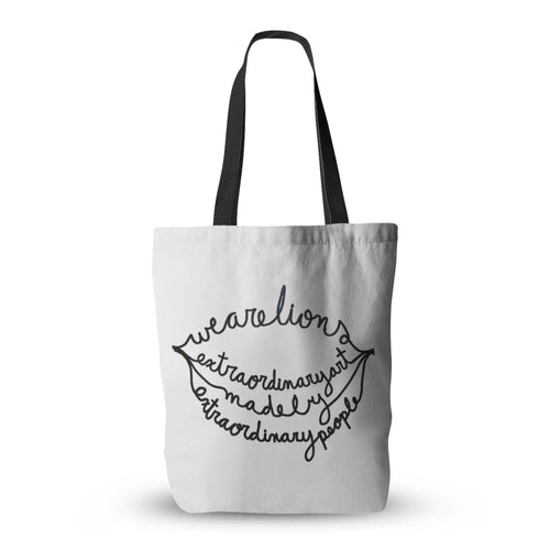 Extraordinary People Tote Bag