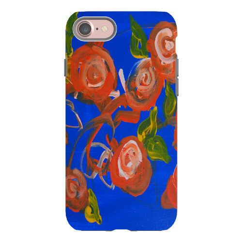 Blue Roses Phone Case