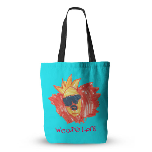 Rylan's Lion Tote Bag