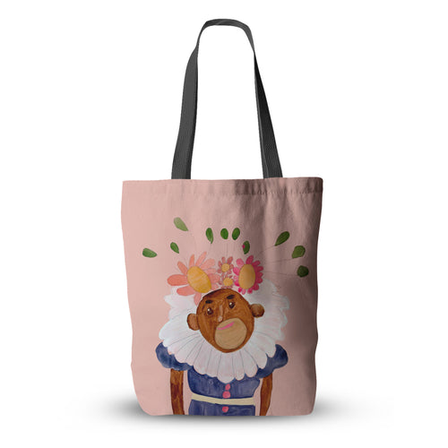 Cedars Monkey Tote Bag