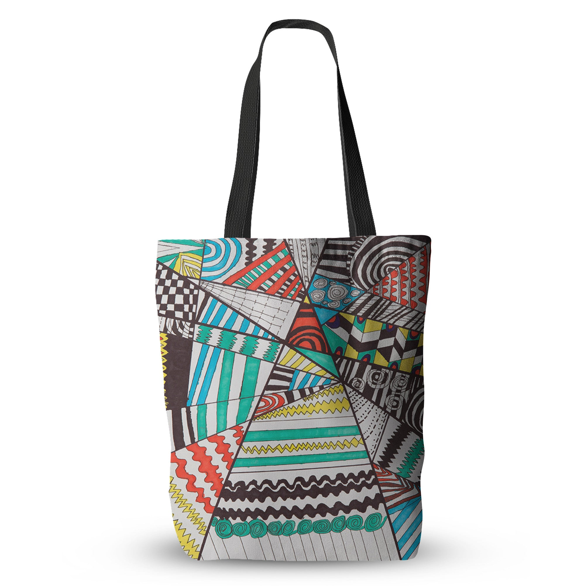 Breaking Patterns Tote Bag