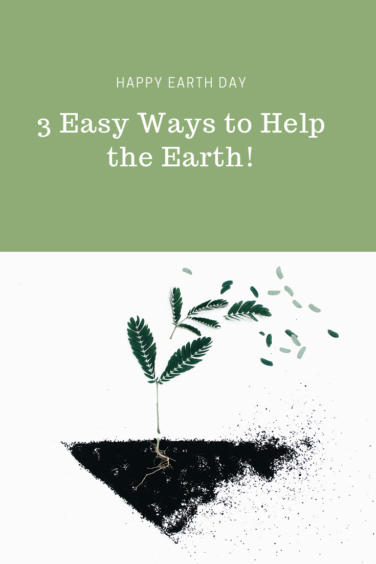 3 Easy Ways to Help the Earth!
