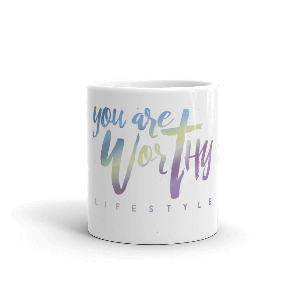Tie-Dye YAW Mug - You are Worthy Lifestyle