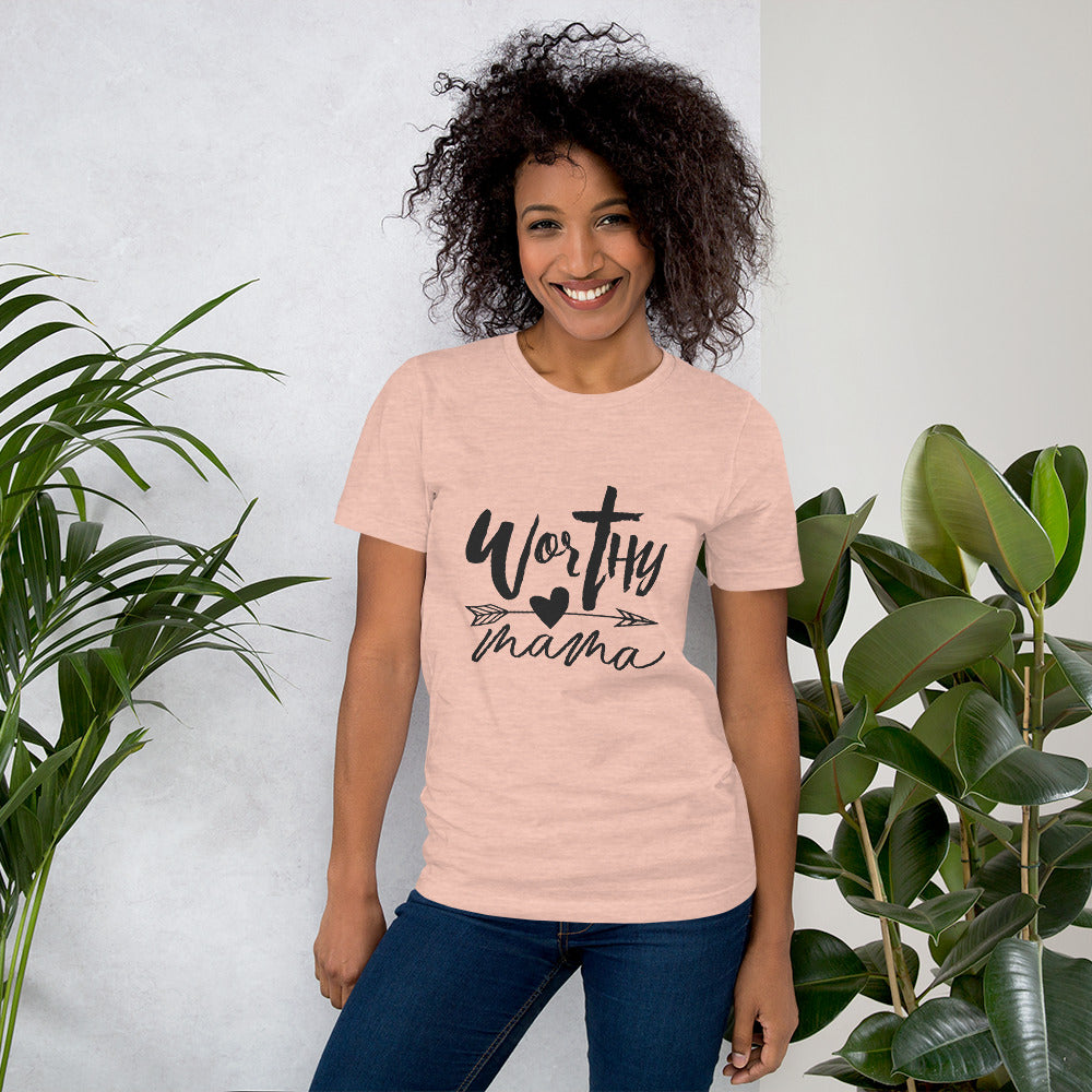 Worthy Mama Heart Tee - You are Worthy Lifestyle