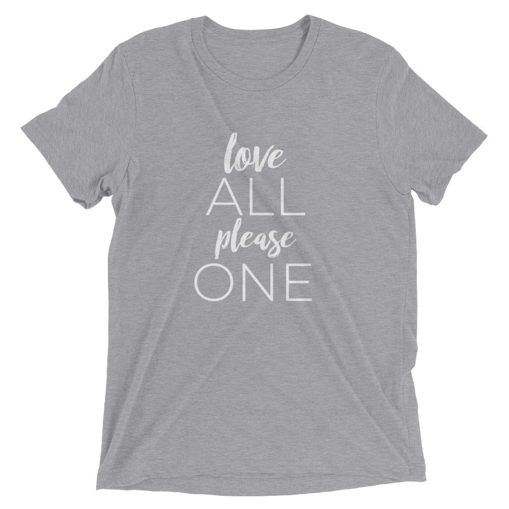 Love All Please One Unisex Tee - You are Worthy Lifestyle