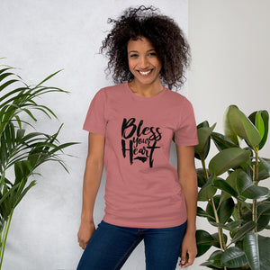 Bless Your Heart NC Unisex T-Shirt - You are Worthy Lifestyle